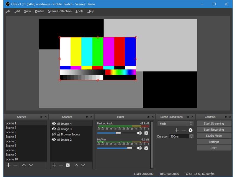 OBS Studio (Portable) - App livestream tốt nhất cho pc
