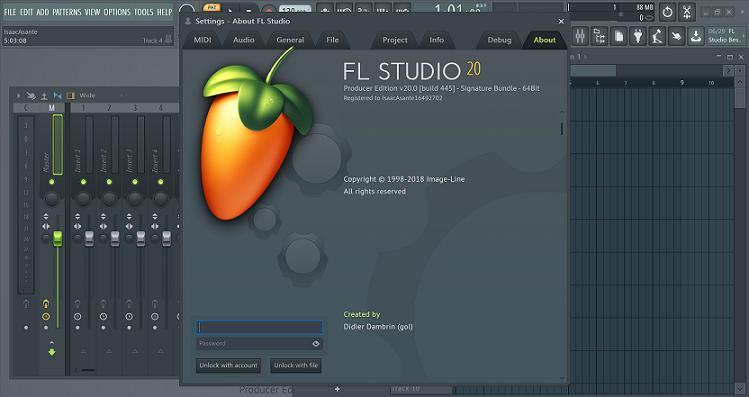 FL Studio 20 (Portable) – Xử lí âm thanh chuyên nghiệp