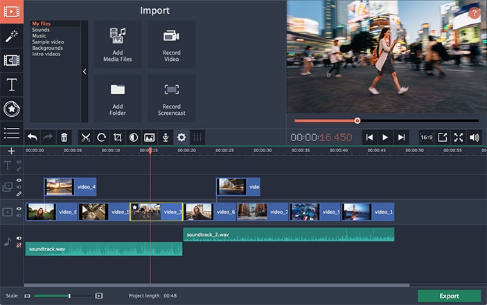 Movavi Video Editor Business (Portable) - Video Editor