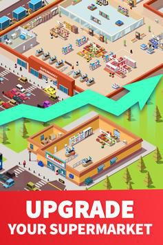 Idle Supermarket Tycoon [Mod] – Vô Hạn Tiền