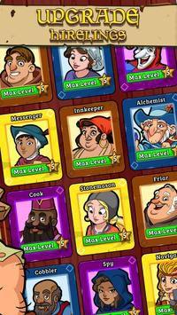 Royal Idle: Medieval Quest [Mod] – Nâng Cấp
