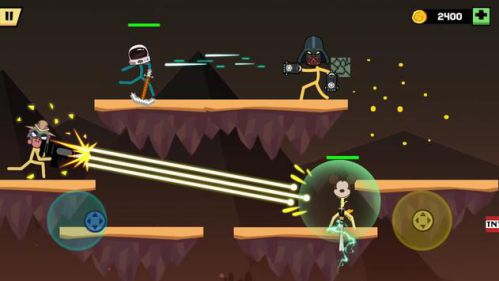 Stickman Fight Battle – Shadow Warriors [Mod] – Auto Win