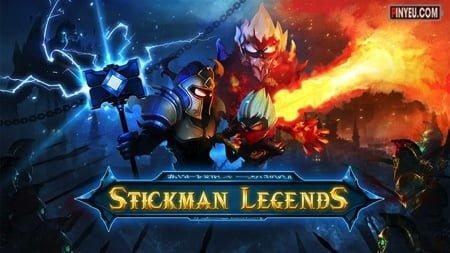 Stickman Legends [Mod] – Menu, Vô Hạn Tiền