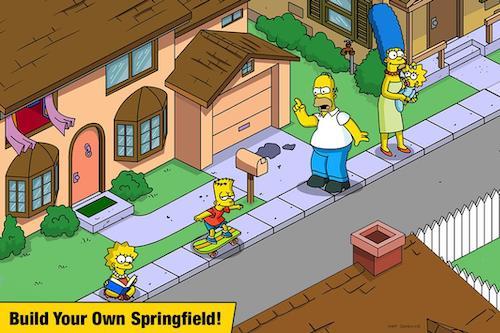 The Simpsons [Mod] – Mua Sắm Miễn Phí