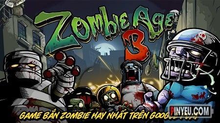 Zombie Age 3 [Mod] – Vô Hạn Tiền, Đạn