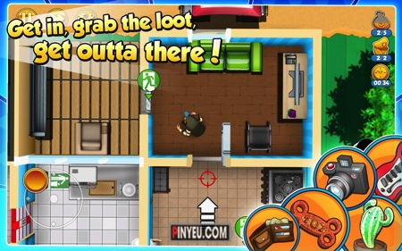 Robbery Bob 2: Double Trouble [Mod] – Vô Hạn Tiền