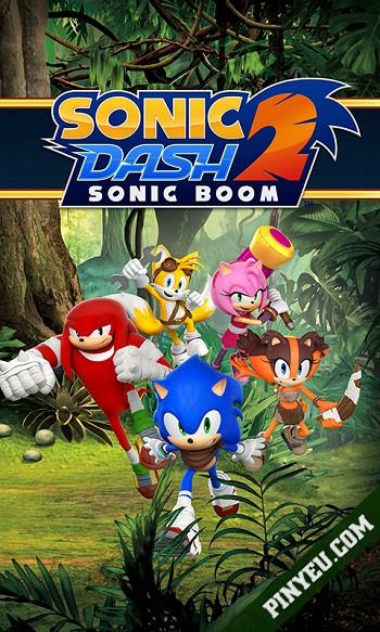 Sonic Dash 2: Sonic Boom [Mod] – Vô Hạn Tiền