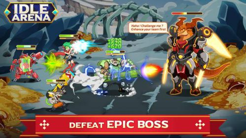 Idle Arena – Clicker Heroes Battle [Mod] – Vô hạn Tiền