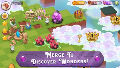 Merge Magic [Mod] – Vô Hạn Tiền, Đá Quý và Gỗ
