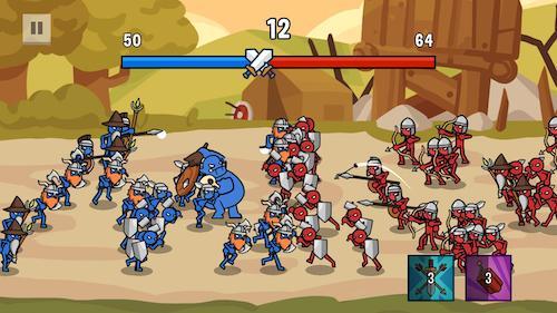 Stick Wars 2: Battle of Legions [Mod] – Vô Hạn Tiền