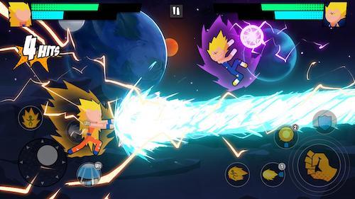Super Dragon Stickman Battle [Mod] – Vô Hạn Tiền