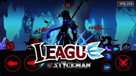 League of Stickman [Mod] – Vô Hạn Tiền