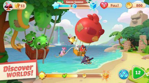 Angry Birds Journey [Mod] – Vô Hạn Xu