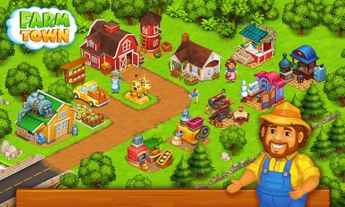 Farm Town: Happy Farming Day [Mod] – Vô Hạn Tiền