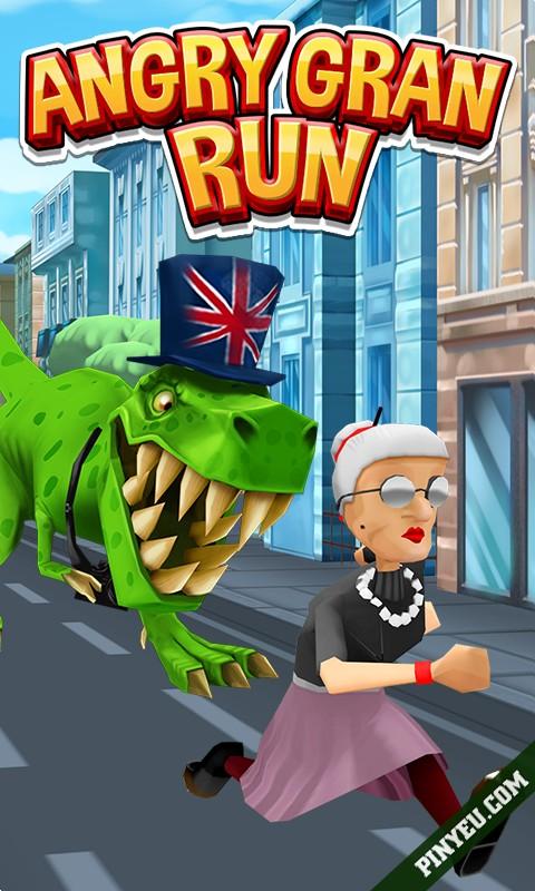 Angry Gran Run [Mod] – Vô Hạn Tiền, Mua Sắm