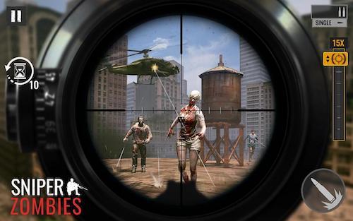 Sniper Zombies [Mod] – Vô Hạn Tiền