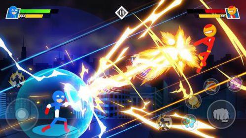 Stickman Combat – Superhero Fighter [Mod] – Vô Hạn Kim Cương, Vàng