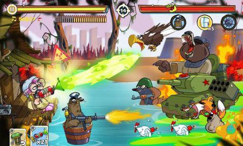 Swamp Attack 2 [Mod] – Vô Hạn Tiền
