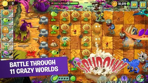 Plants vs Zombies 2 [Mod] – Vô Hạn Tiền