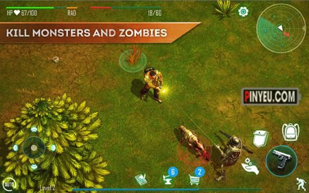 Live or Die: Survival Pro [Mod] – Vô Hạn Energy, Skill Points