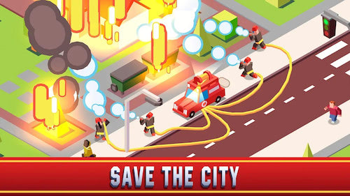 Idle Firefighter Empire Tycoon [Mod] – Vô Hạn Tiền