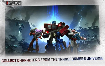 TRANSFORMERS: Forged to Fight [Mod] – 1 HIT