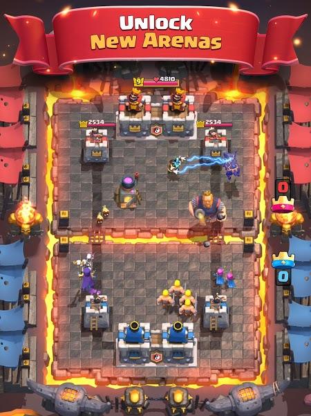 Clash Royale [Mod] – vô hạn Tiền, Mở khóa tất cả