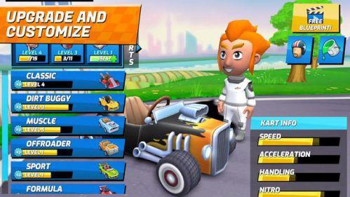 Boom Karts – Multiplayer Kart Racing [Mod] – Vô Hạn Tiền