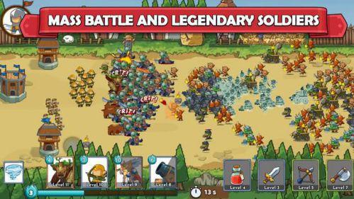 Mega War – Clash of Legions [Mod] – Vô Hạn Tiền
