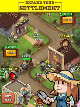 Idle Frontier: Tap Town Tycoon [Mod] – Nâng Cấp