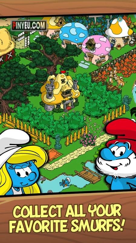 Smurfs Village [Mod] – Vô Hạn Vàng
