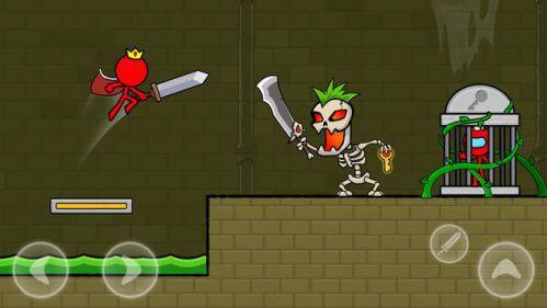 Red Stickman : Animation vs Stickman Fighting [Mod] – Mở Khóa