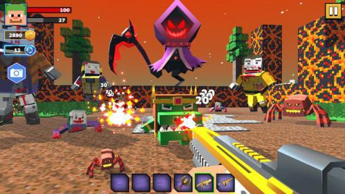 Fire Craft: 3D Pixel World [Mod] – Vô Hạn Tiền