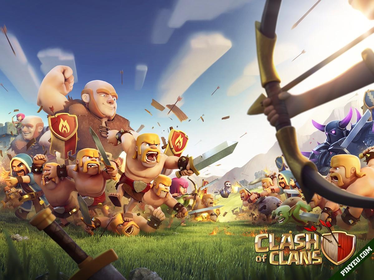Clash of Clans [Mod] – Vô Hạn Tài Nguyên
