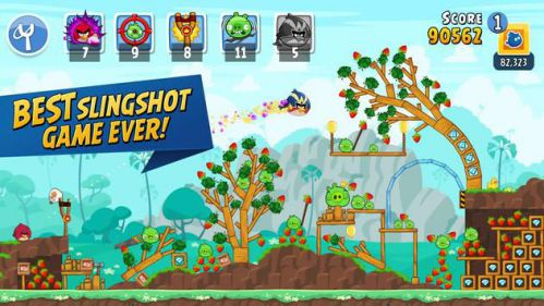 Angry Birds Friends [Mod] – Vô Hạn Boosters