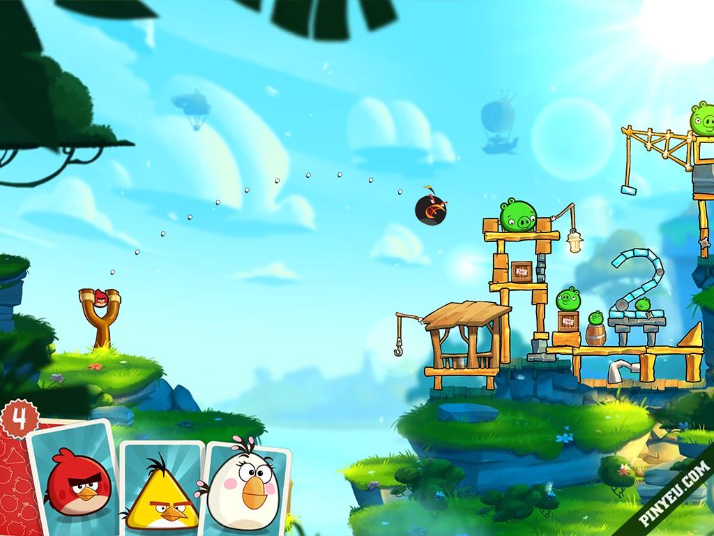 Angry Birds 2 [Mod] – Vô Hạn Kim Cương, Năng Lượng