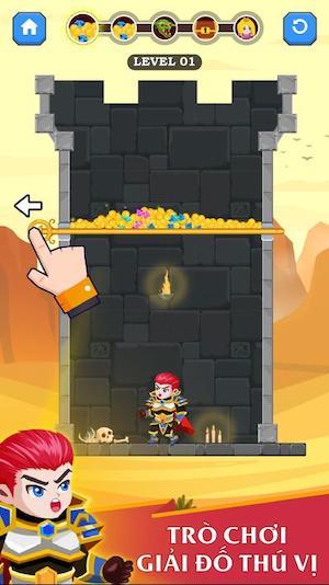 Hero Rescue [Mod] – Bất Tử
