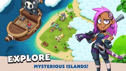 Pirate Evolution [Mod] – Vô Hạn Vàng, Kim Cương