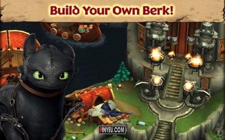 Dragons: Rise of Berk [Mod] – Vô Hạn Runes, Cards, Fish