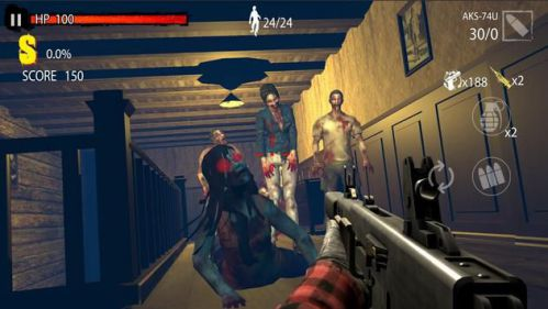 Zombie Hunter D-Day [Mod] – 1 HIT, GOD MODE