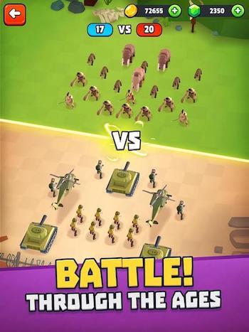 Battle Simulator: Warfare [Mod] – Mua Sắm