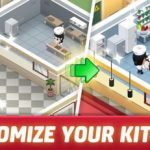 Idle Restaurant Tycoon [Mod] - Vô Hạn Tiền