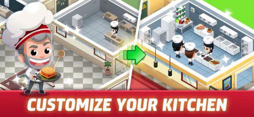 Idle Restaurant Tycoon [Mod] – Vô Hạn Tiền