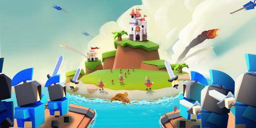 Island War [Mod] – chiến thắng dễ dàng
