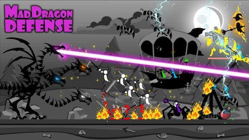 Mad Dragon Defense [Mod] – Kim Cương, Sao