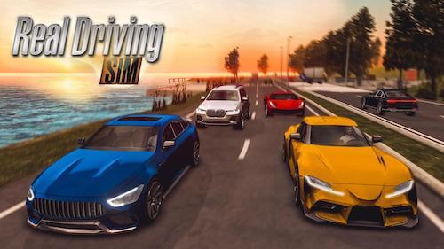 Real Driving Sim [Mod] – Tiền, Mở Khóa