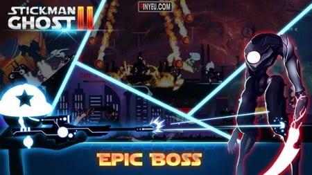 Stickman Ghost 2: Galaxy Wars [Mod] – Mua Sắm