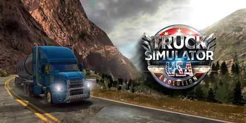 Truck Simulator USA [Mod] – Mở Khóa, Vô Hạn Tiền