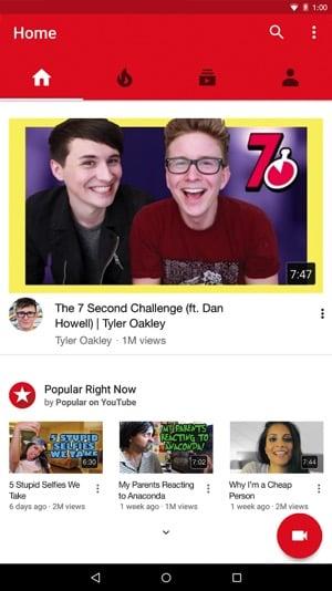 YouTube Vanced [Mod] – Không quảng cáo & chạy nền