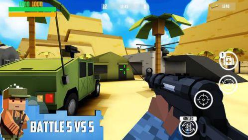 Block Gun: FPS PvP War [Mod] – Mua Sắm